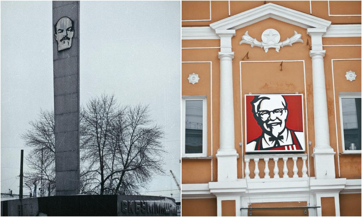 петрозаводск, ссср, архитектура, памятники, ленин
