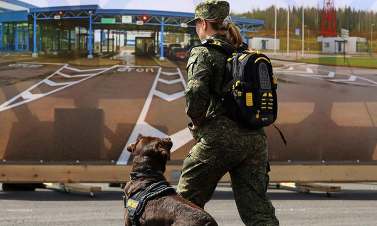 граница, Россия