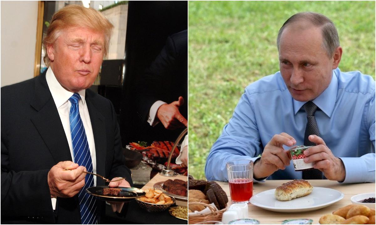 Что ест русский президент— Владимир Путин