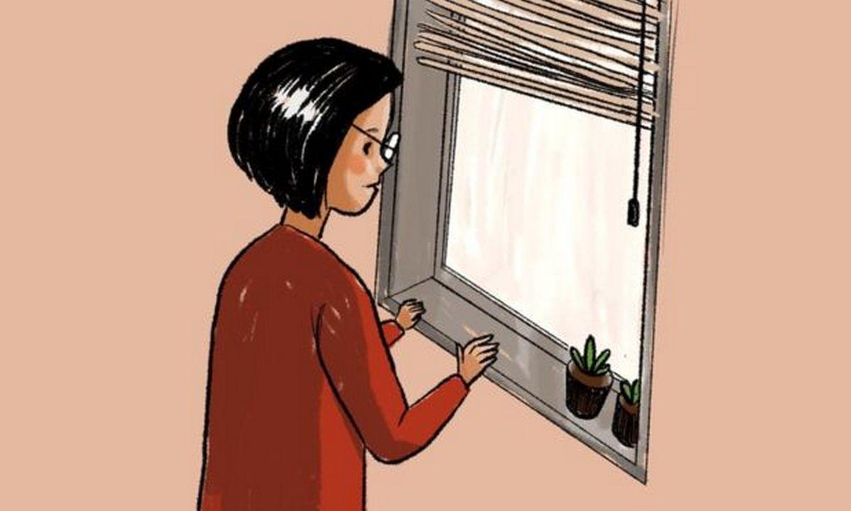 изоляция, окно, карантин