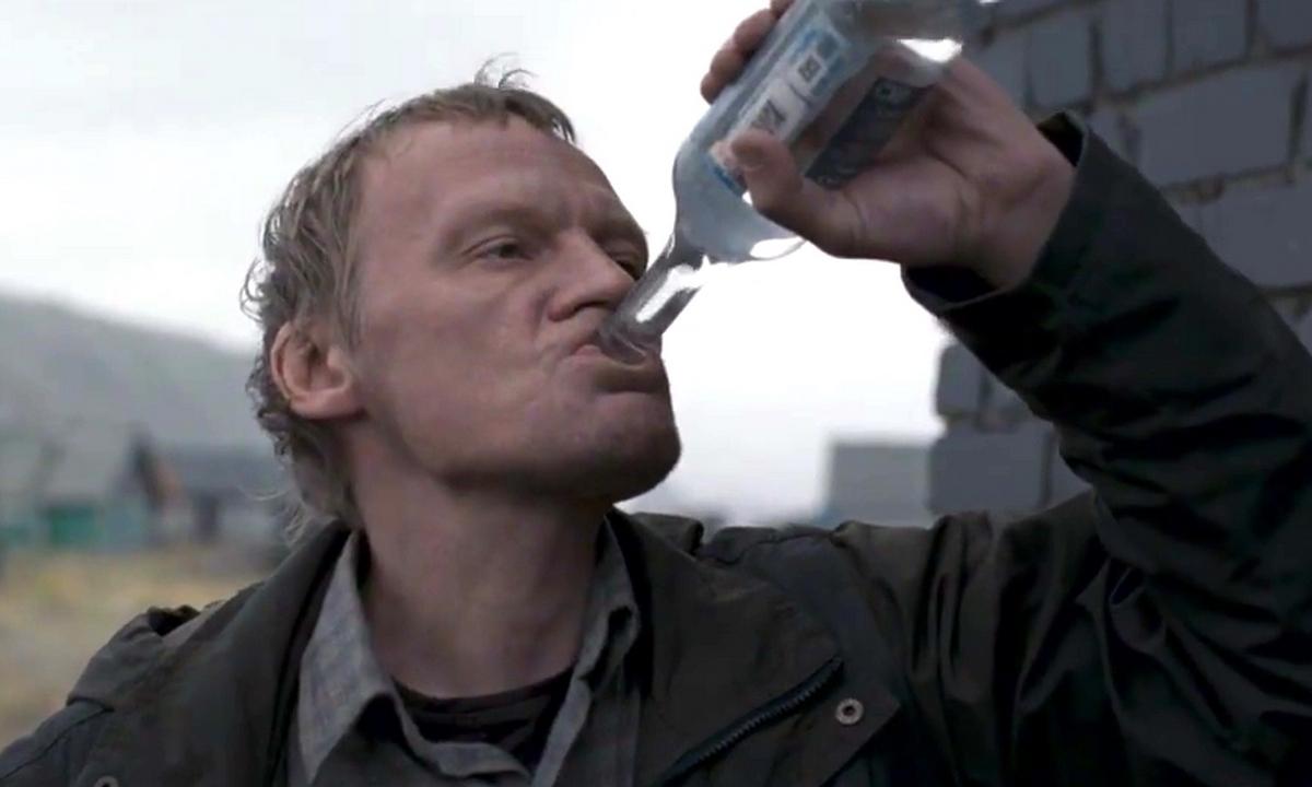 Зачем пить водку из горла?