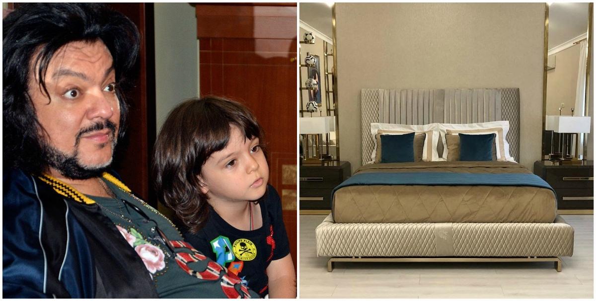 Филипп Киркоров купил кровать сыну за млн. руб.