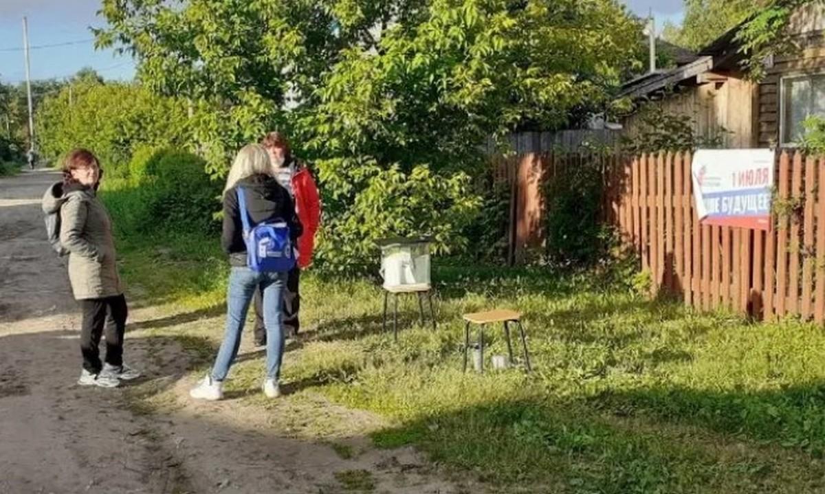 участок, Пермь, бюллетень