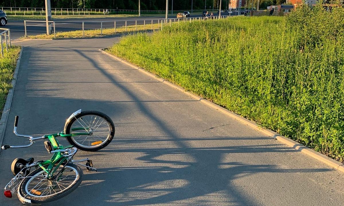 велосипедист, скрылся, авария
