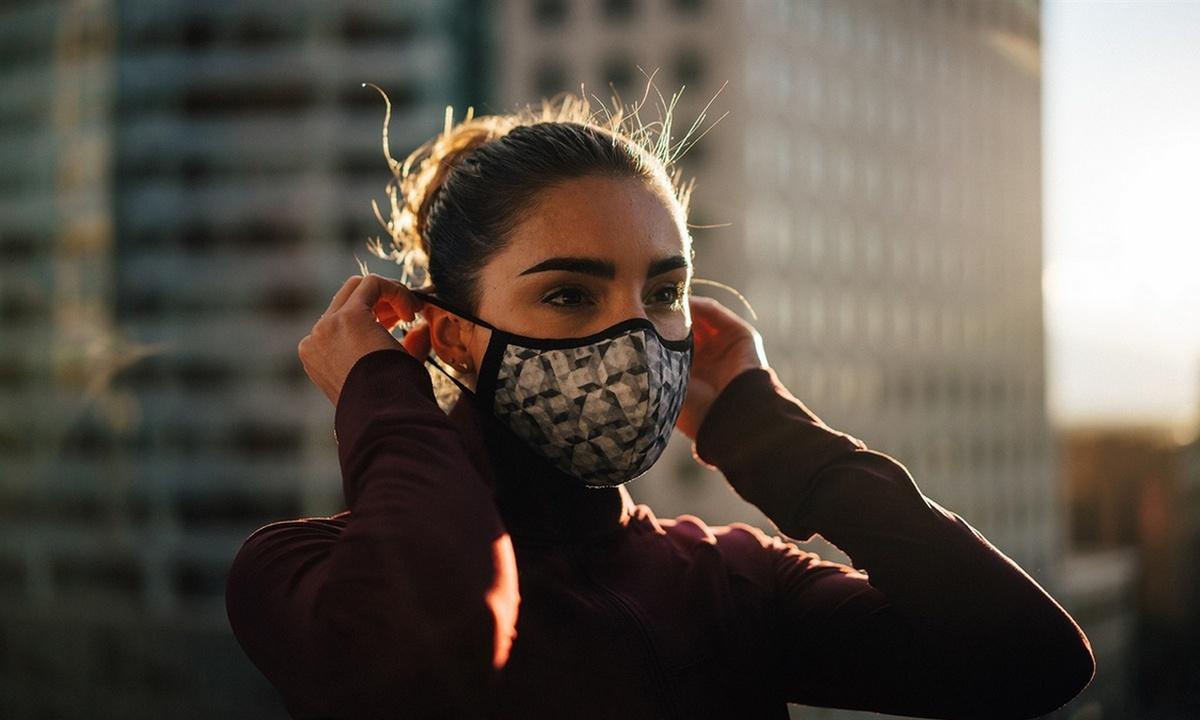 маска, вирус, заболеваемость