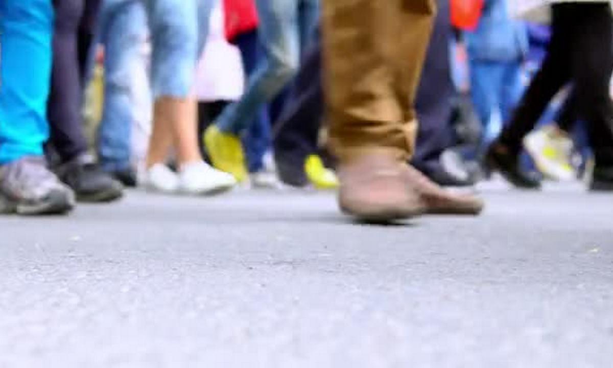 ноги, толпа, люди