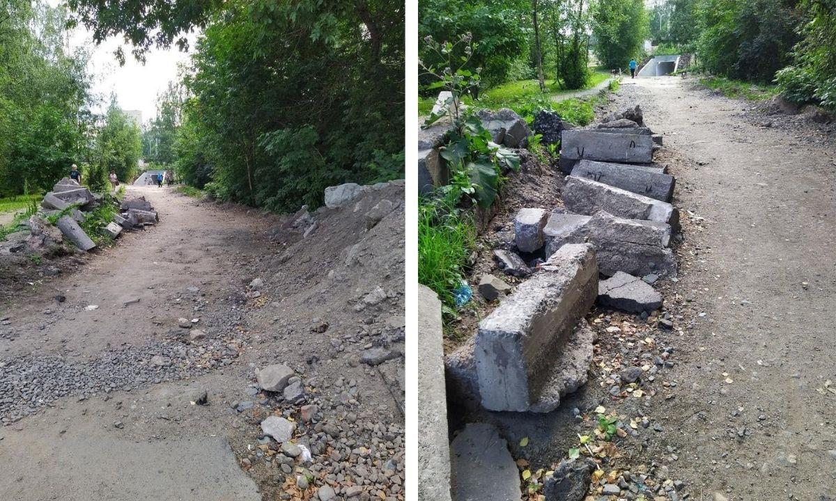 камень, дорога, Петрозаводск
