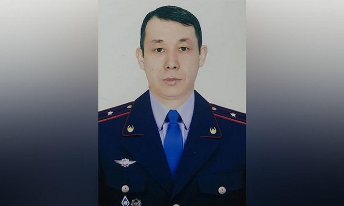 полиция, травма, Алма-Ата