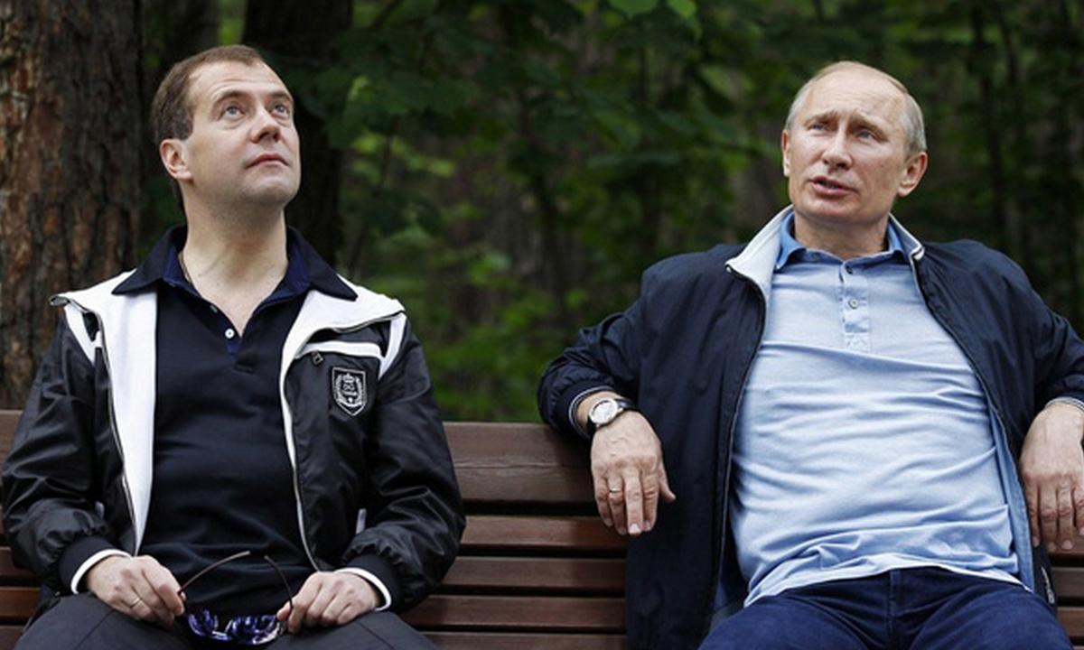Путин, Медведев, доходы