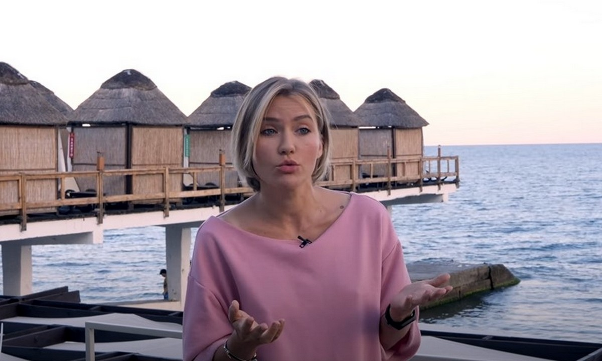 Екатерина Конасова, пляж, Ялта