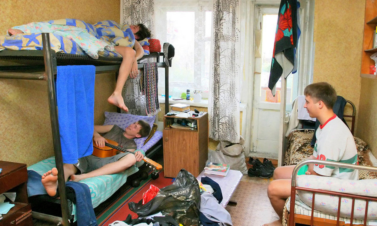 cтуденты, общежитие, заселение, ПетрГУ