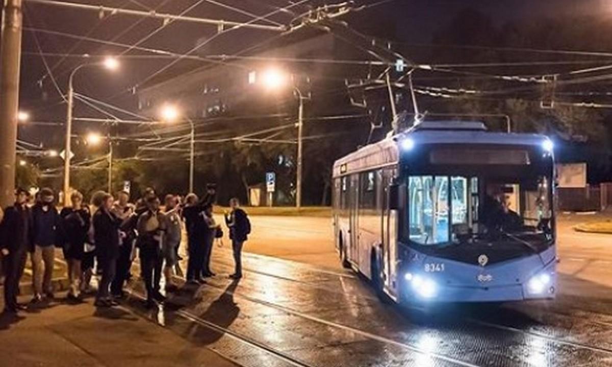 фото, троллейбус, Москва