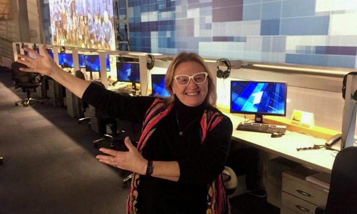 Александра Ливанская, телеведущая