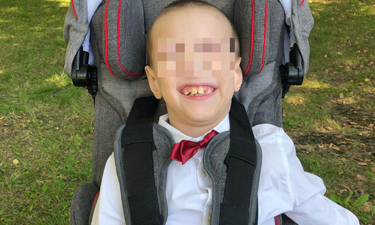 мальчик, ребенок, инвалид