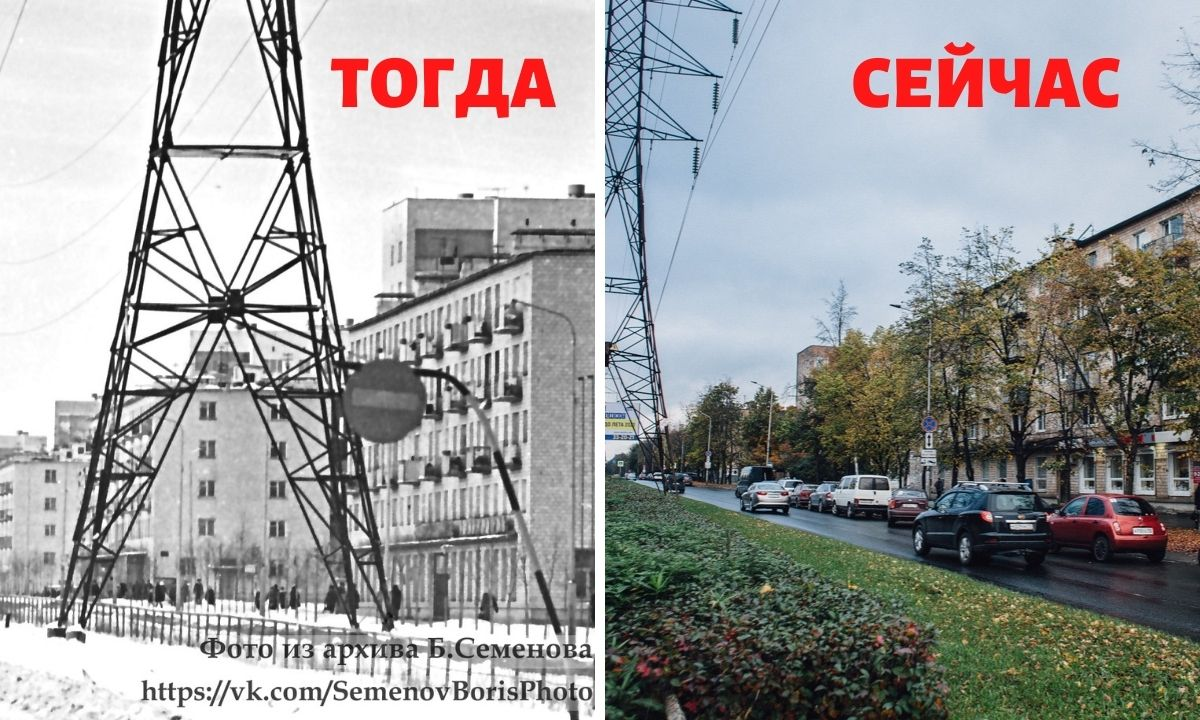 тогда, сейчас, было, стало, локон, парикмахерская, самая старая в городе, петрозаводск, ретро, фото, снимки, архив, ссср, октябрьский проспект