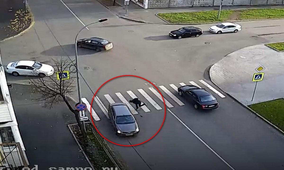 cбили, Петрозаводск, пешеход