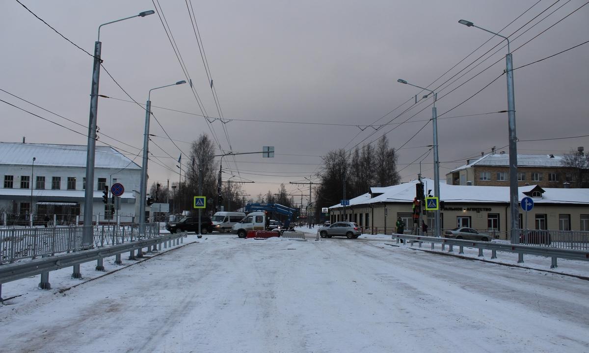 кировский мост, Петрозаводск