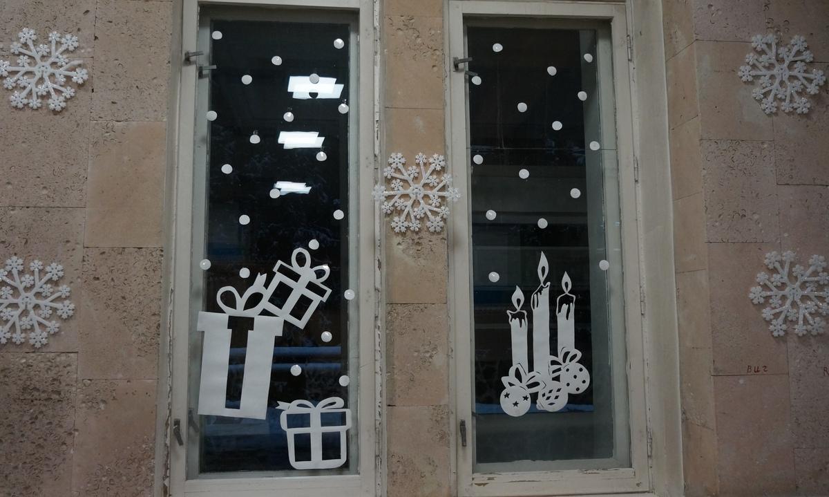 окна, украсили, Петрозаводск, Минздрав