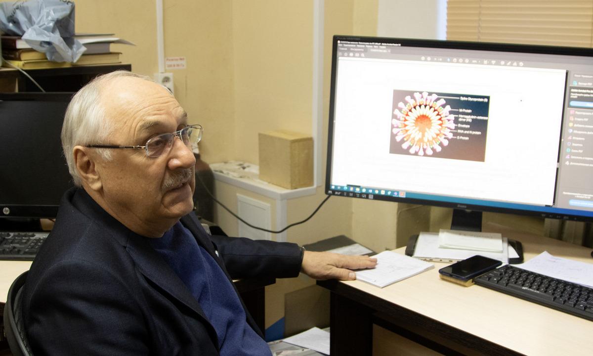 ученый, коронавирус, исследование