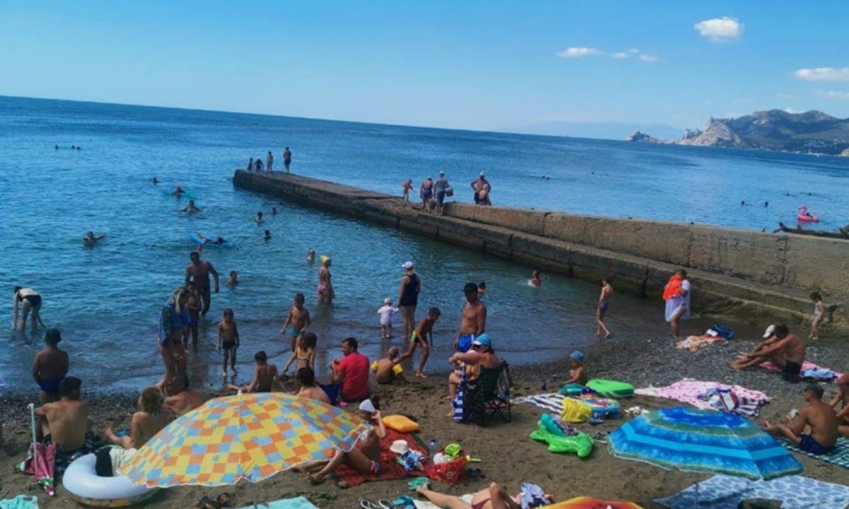 Крым море отпуск