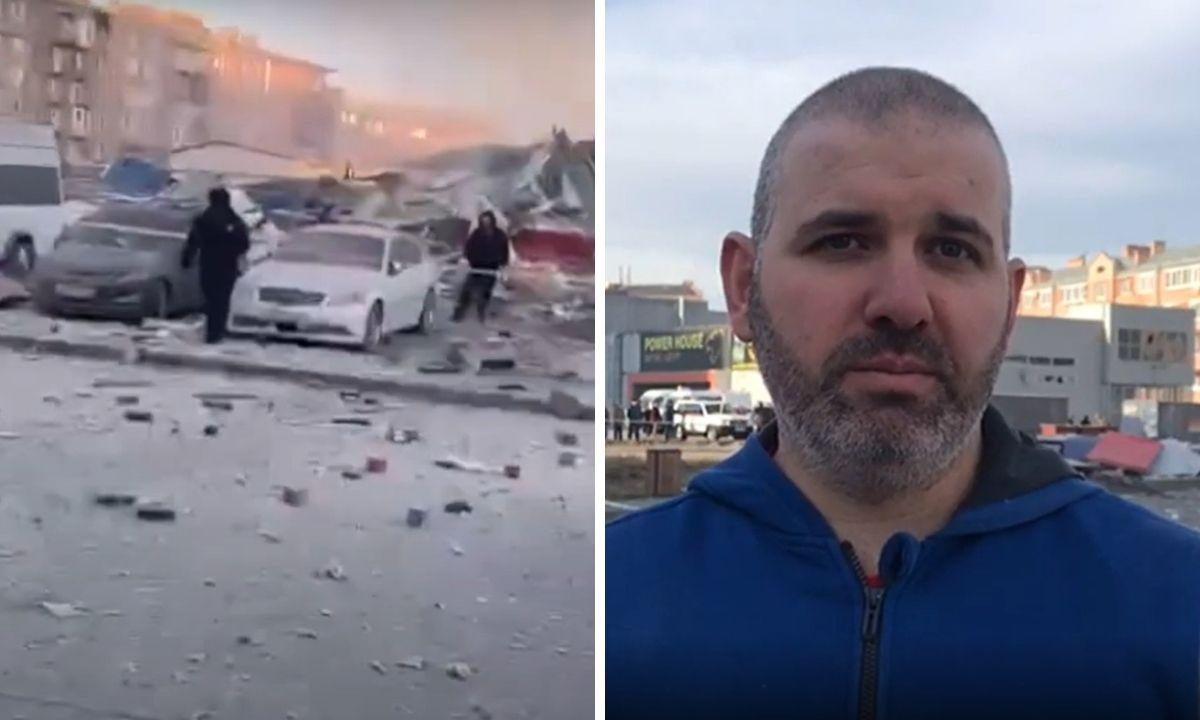 взрыв ТЦ Владикавказ