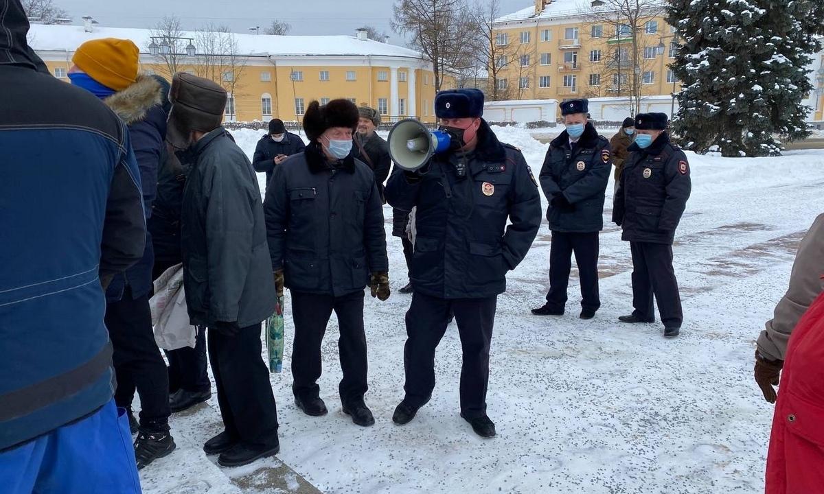 КПРФ, митинг, Петрозаводск