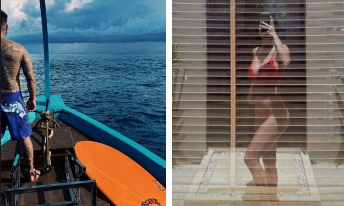 Тимати и Вебер на Мальдивах