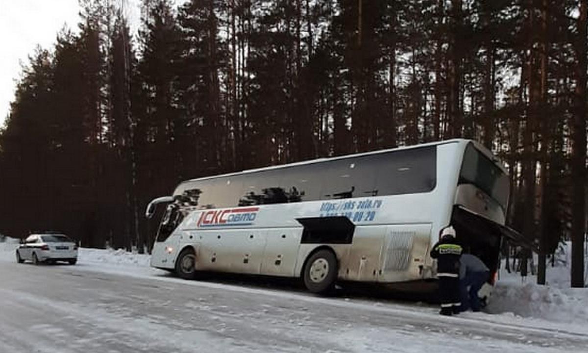 авария с автобусом в Карелии