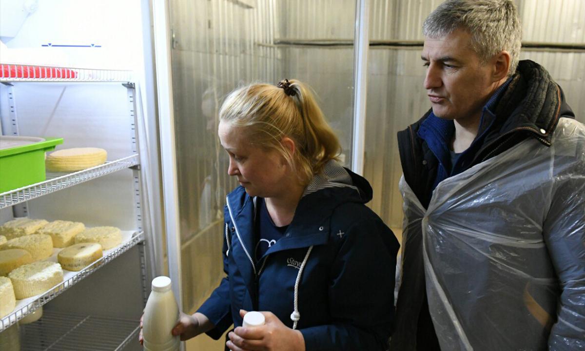 губернатор карелии Парфенчиков и Ирина Фигурова