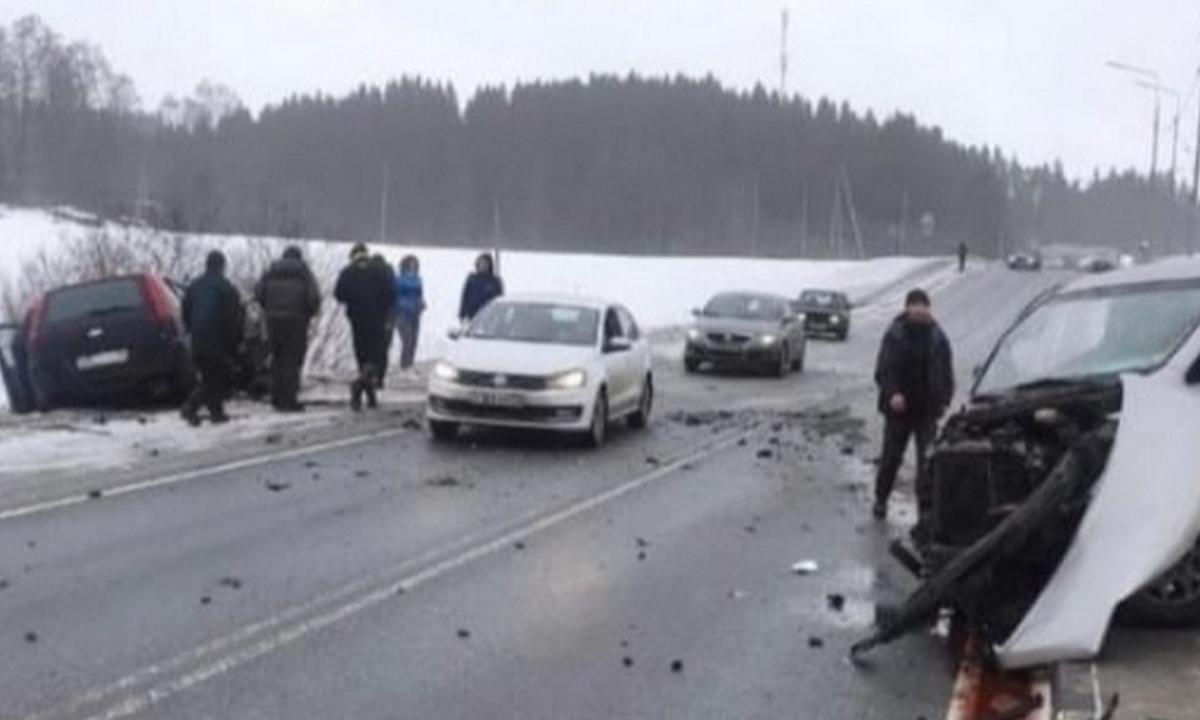 авария на трассе в Сортавале