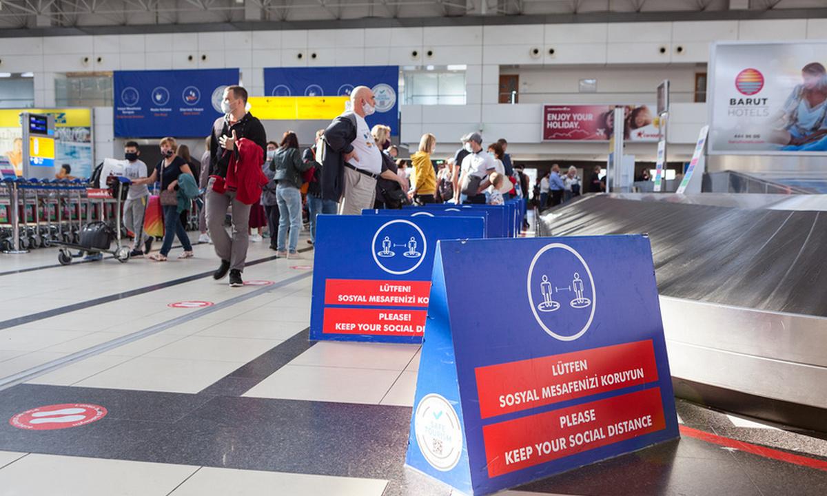 аэропорт в эпоху пандемии