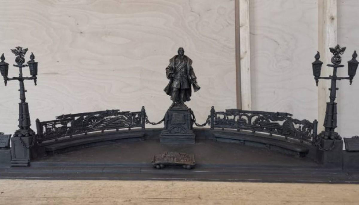 Эскиз будущего памятника