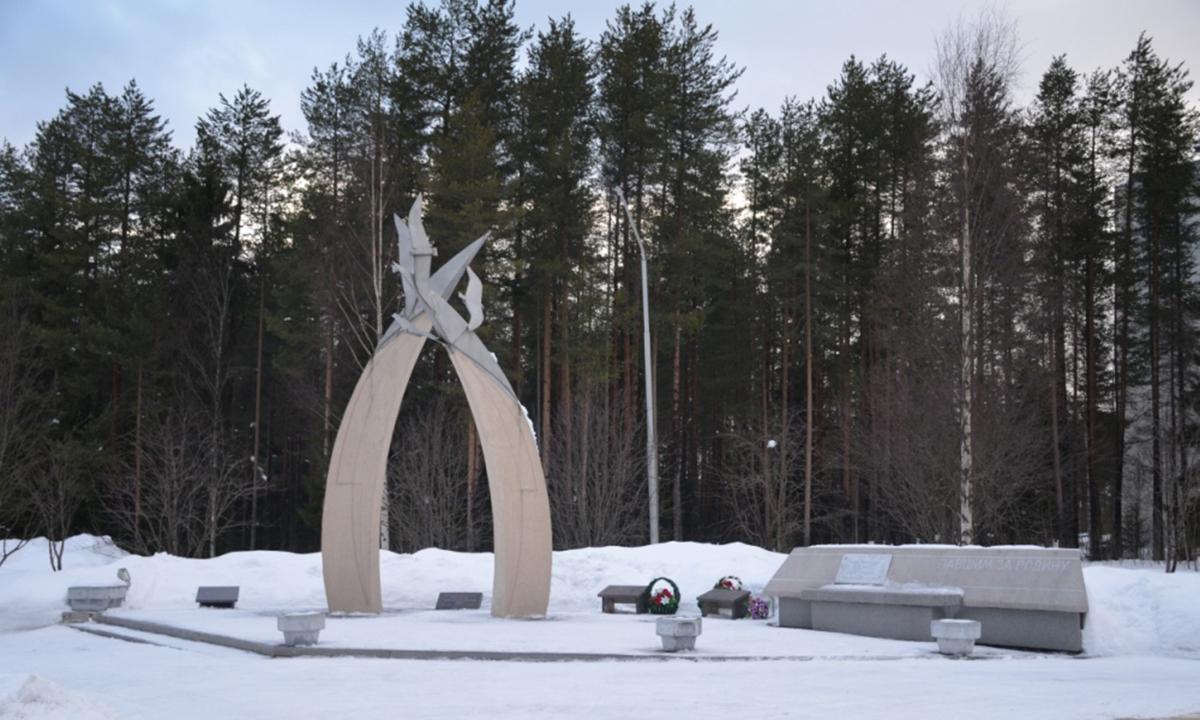 памятник «Павшим за Родину» на улице Героев
