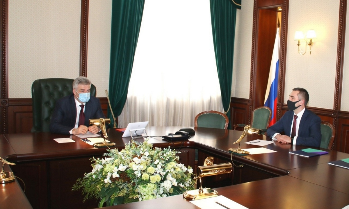 Артур Парфенчиков и Александр Логинов