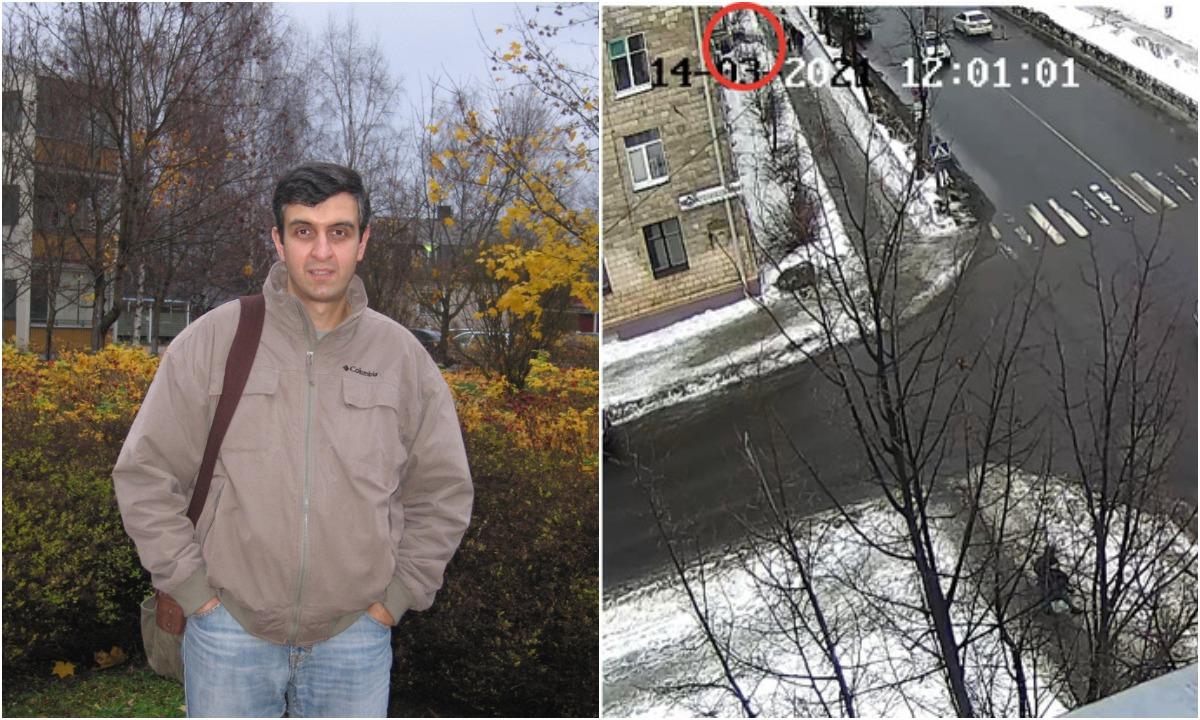 мужчину убило льдиной в Петрозаводске