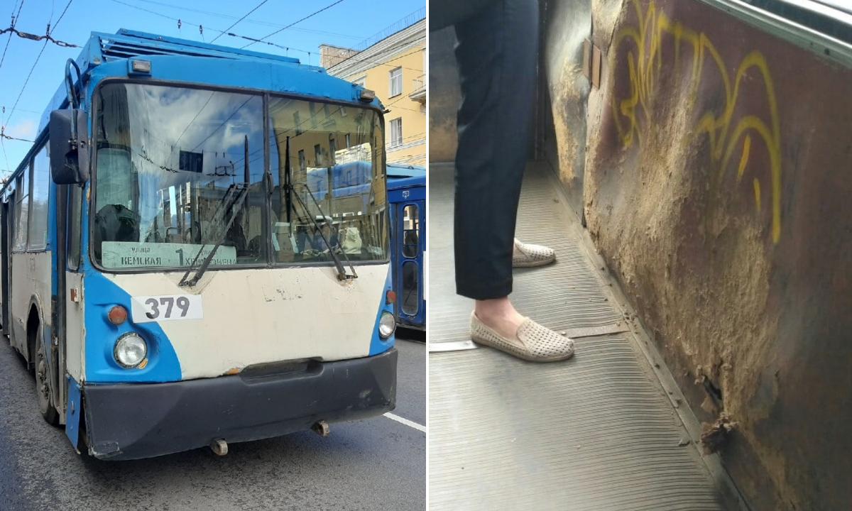 Петрозаводские троллейбусы изношены почти полностью