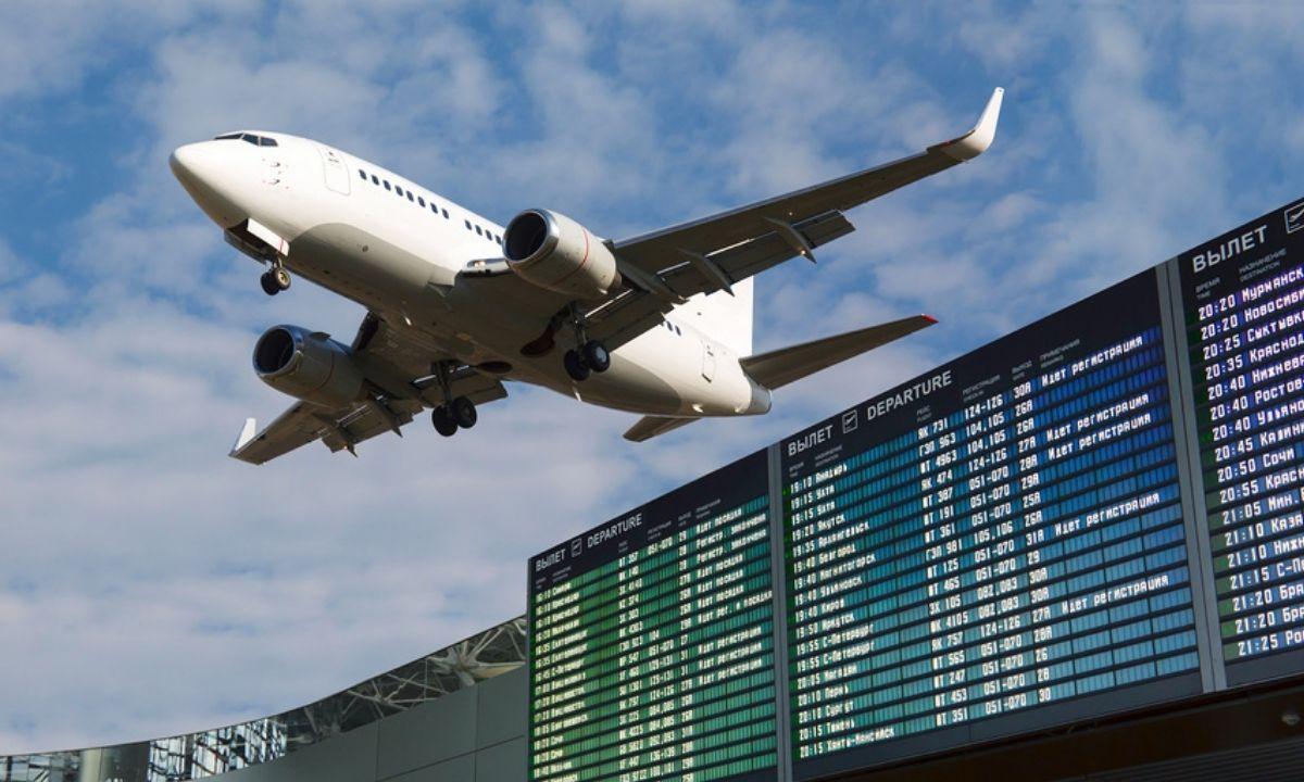 самолет аэрапорт