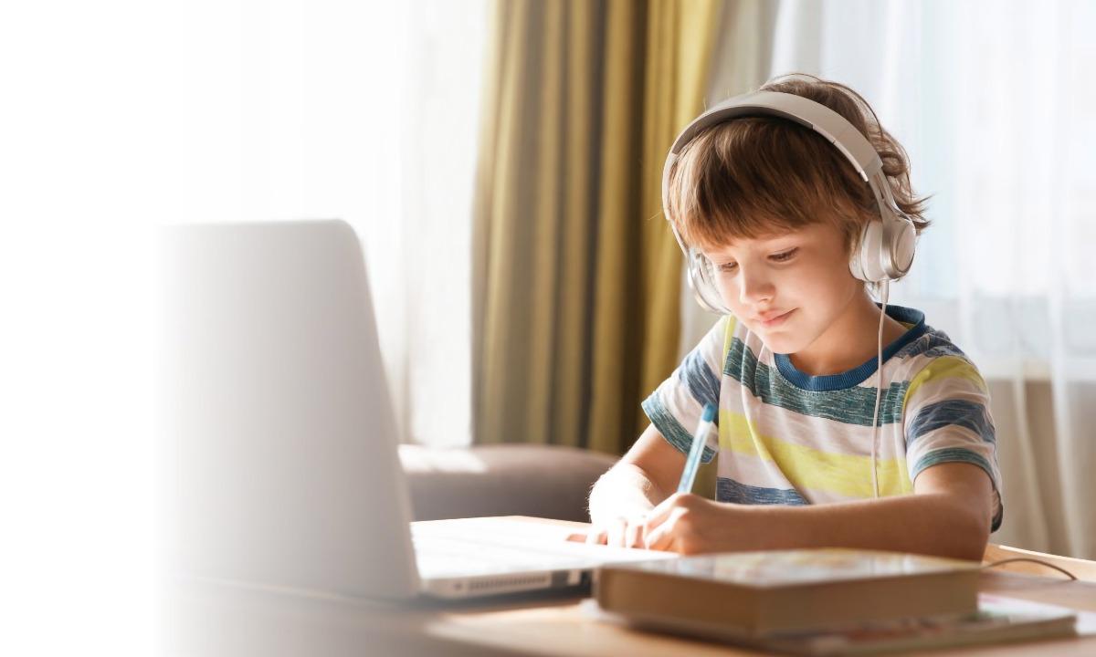 ребенок учиться дома, дистанционное обучение, ростелеком лицей