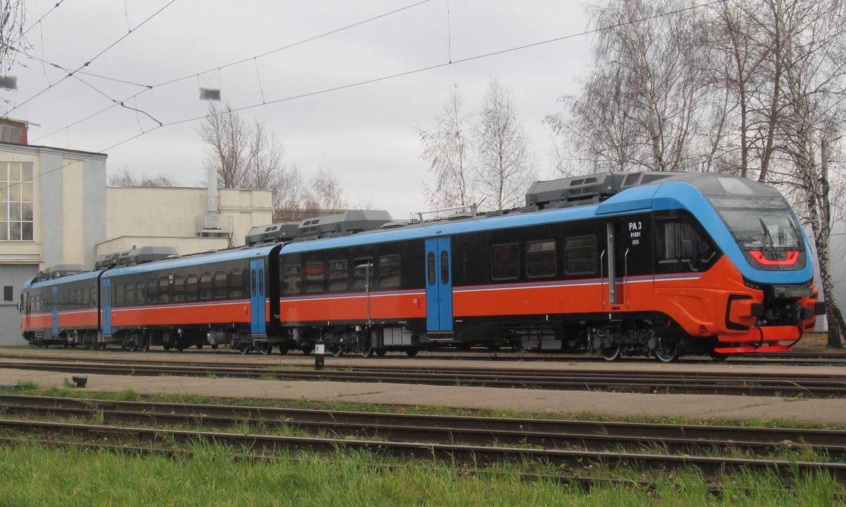 новый поезд Орлан