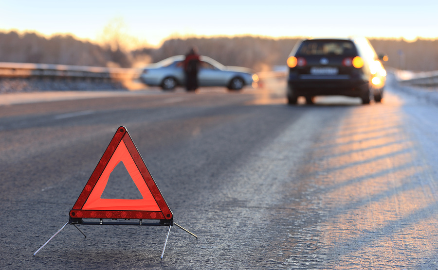 Авария на трассе