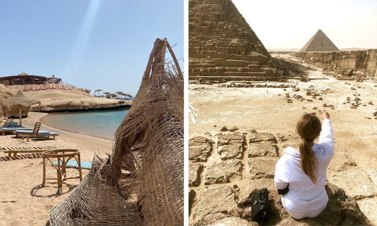 Туристы отдыхают в Египте