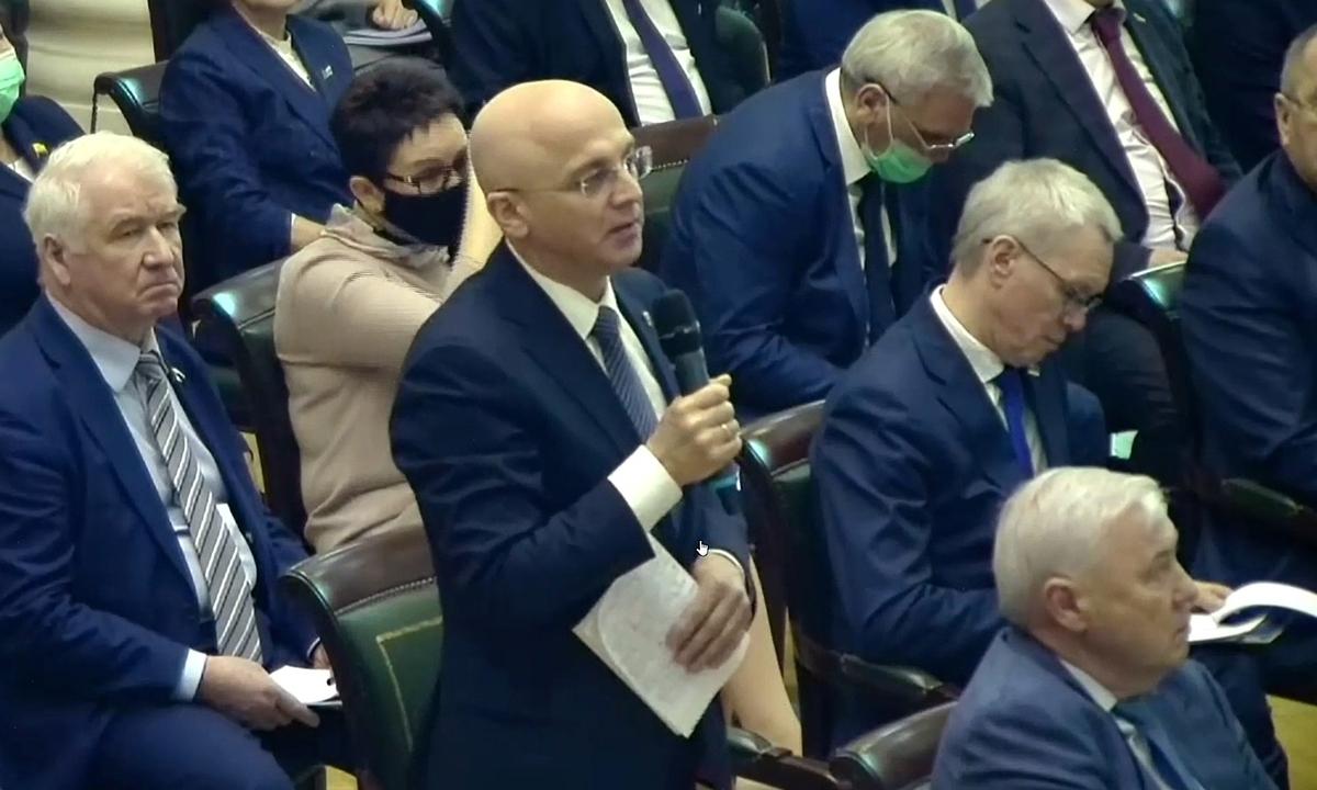 Элиссан Шандалович Совет законодателей России