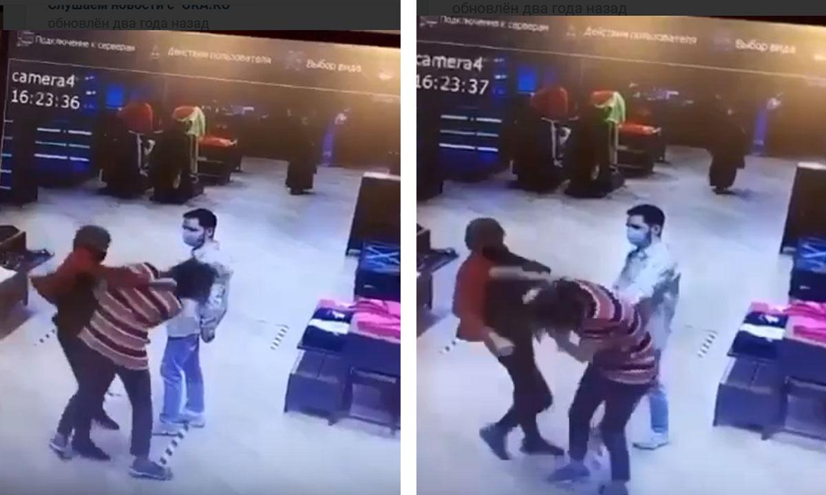 "сотрудников ""найк"" избивают на работе. Продавцов избивают на работе"
