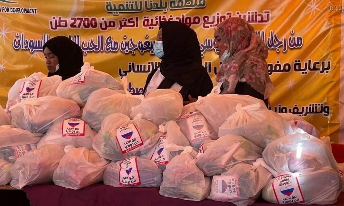 Гуманитарная помощь Судану