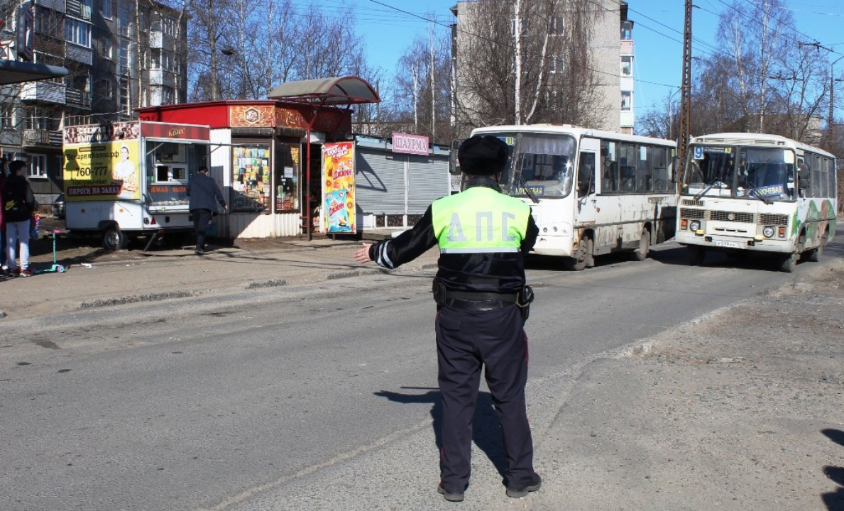 Проверка маршруток в Петрозаводске