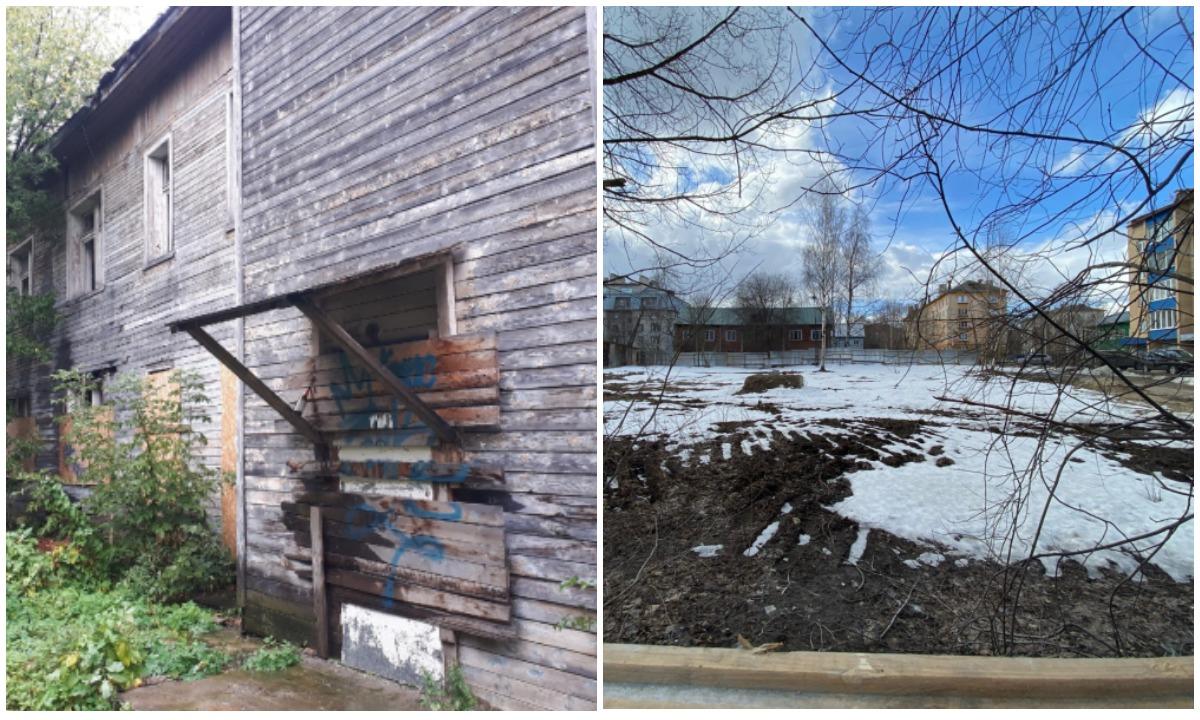 Снесли здание диспансера в Петрозаводске