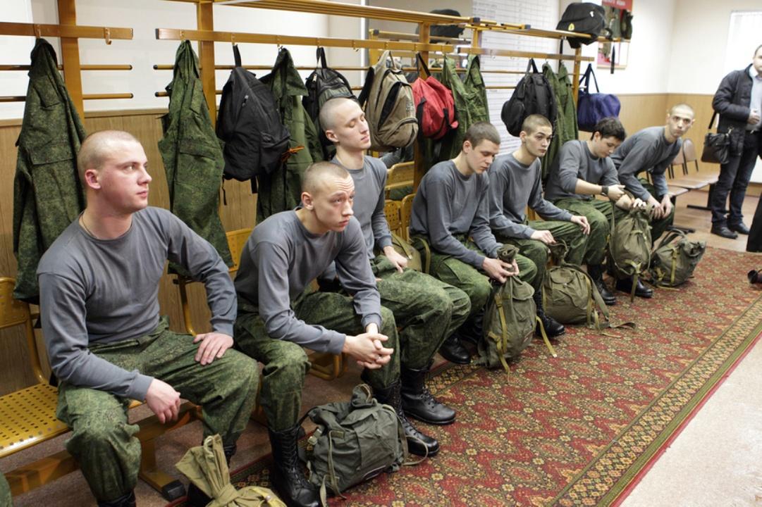 Солдаты на призыве