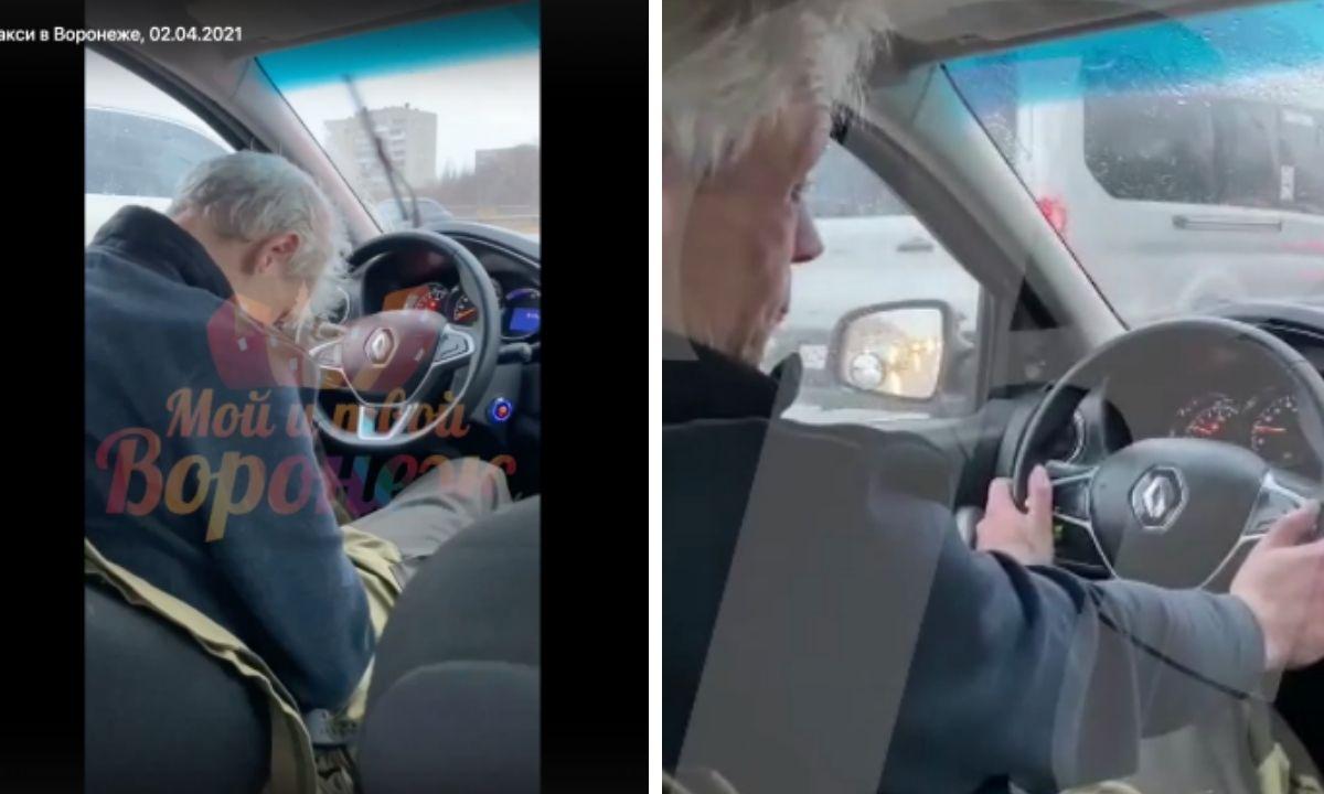 у водителя случился инсульт за рулем