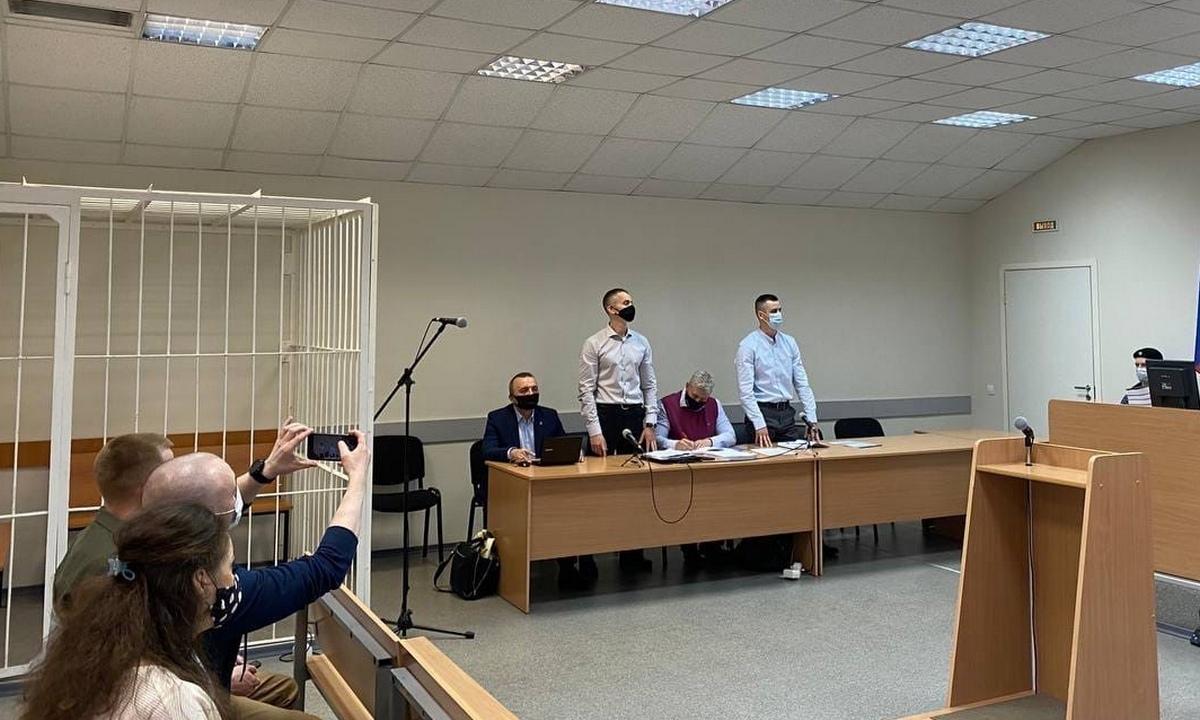 Иван Савельев и Иван Ковалев в суде