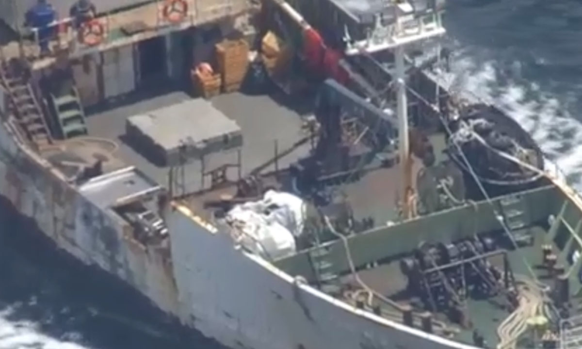 Три моряка погибли при столкновении судов